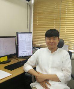 김대욱 박사과정 학생, 2017년 글로벌박사양성사업에 선정돼