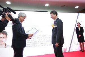 Prof. Ji Oon Lee Wins the Young Scientist Award 2018 from the Korean Academy of Science and Technology