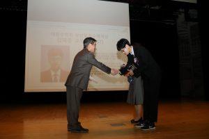 한상근 교수, 서동엽 교수, 김재훈 교수, 대한수학회로부터 상 받아