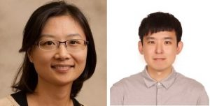 Winners of KAIST's 50th Anniversary Awards: Hyonho Chun and Donghwan Kim